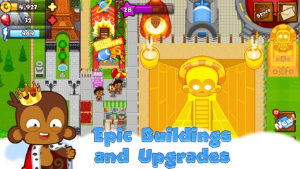 Bloons Monkey City - City Building